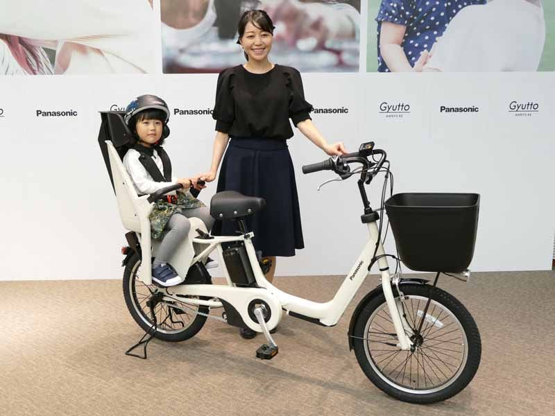 ワンタッチで開錠できるシステムを搭載した子育てモデルの電動アシスト自転車「ギュット・アニーズ・KE BE-ELKE03」