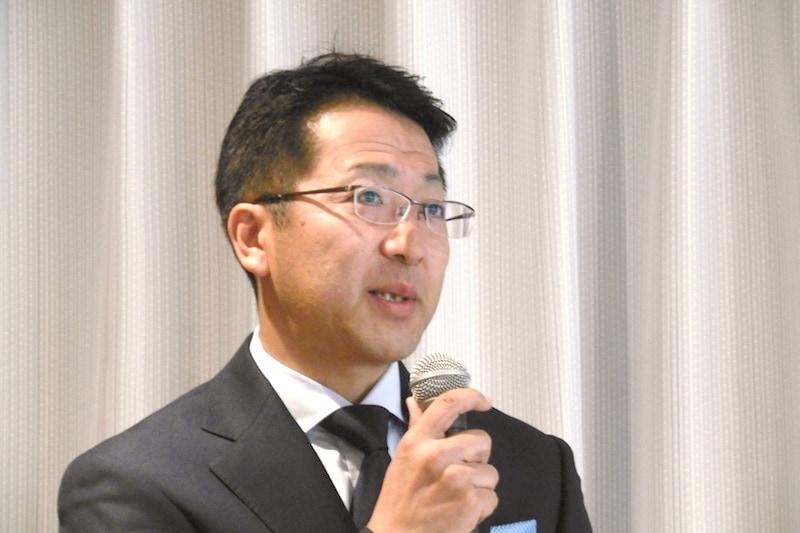 ツインバード工業 代表取締役社長の野水重明氏