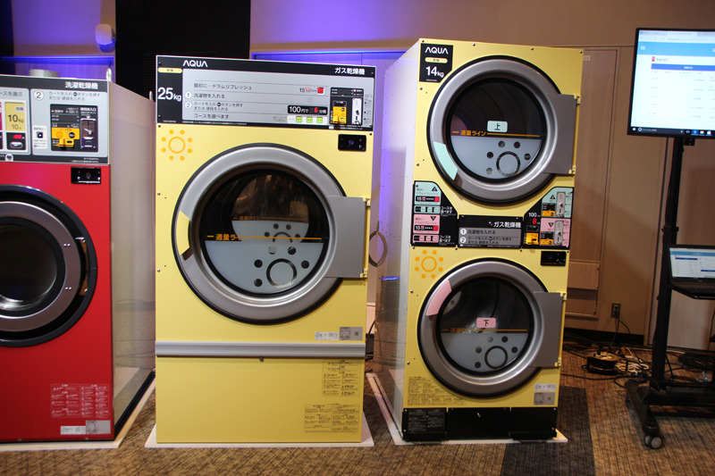 新たに販売するコインランドリー用乾燥機