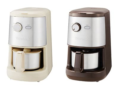ビタントニオ、豆挽きからできる12,000円の全自動コーヒーメーカー ビタントニオ「全自動コーヒーメーカー VCD-200」