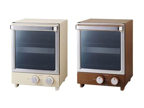 ビタントニオ、縦型2段式で省スペースに置けるオーブントースター ビタントニオ「縦型オーブントースター VOT-20」
