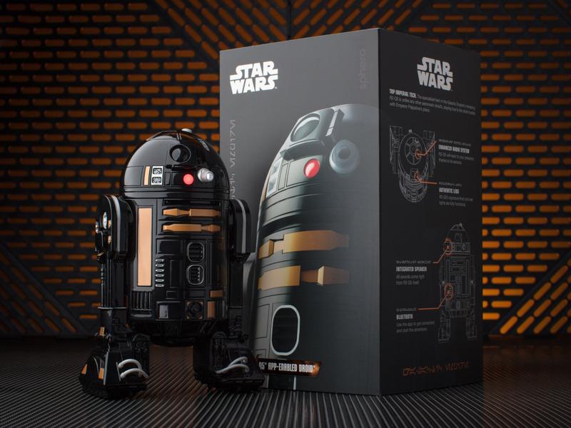 R2-Q5 アップイネーブルド ドロイド。(C) & TM Lucasfilm Ltd.