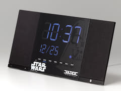 リズム時計、スター・ウォーズ仕様のBluetoothスピーカー搭載クロック トキオト「DARTH VADER」