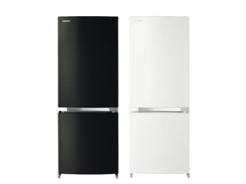 東芝、単身世帯向けのスタイリッシュな2ドア冷蔵庫 2ドア冷蔵庫「BSシリーズ」