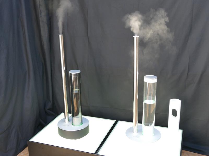 抗菌、カルシウム除去機能が向上した超音波式加湿器「STEM(ステム) 620」