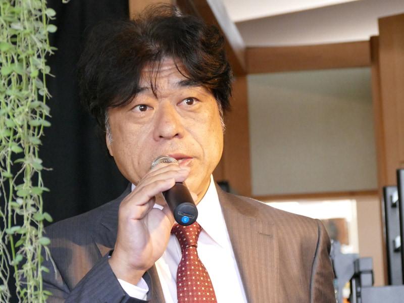 カドー代表取締役社長 古賀宣行氏