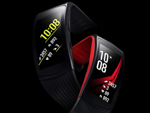 サムスン、GPSと心拍計を搭載したフィットネスバンド「Gear Fit2 Pro」 Gear Fit2 Pro