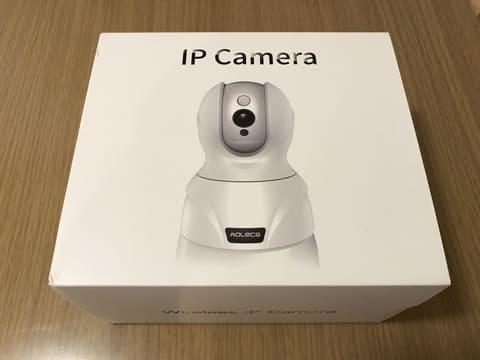 外出先から確認できるベビーモニターが意外に良かった話 Aoleca「ネットワークカメラ ペット カメラ 720P 100万画素」のパッケージ