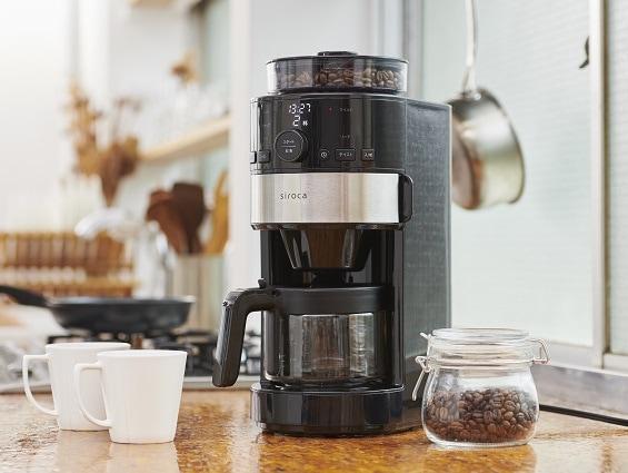 朝淹れたてのコーヒーを楽しめるという