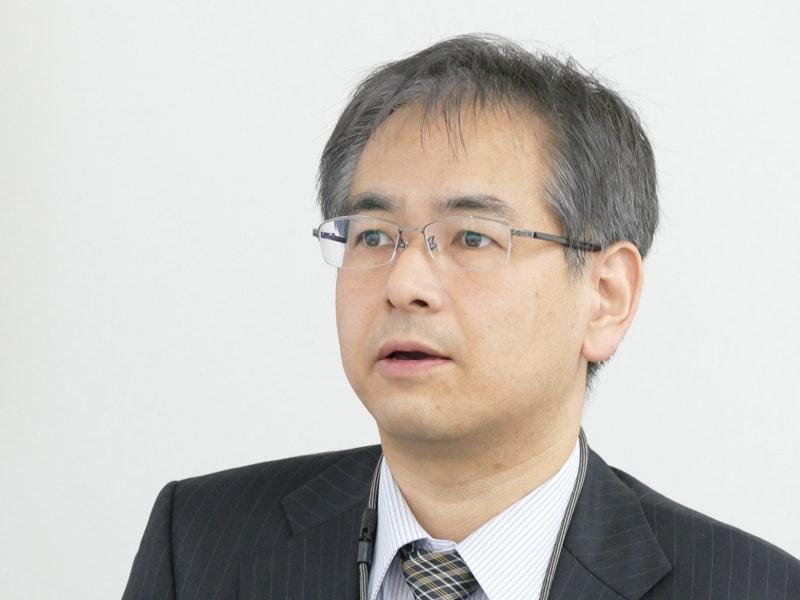家電事業統括部・家電商品企画部 課長 弦巻孝司氏