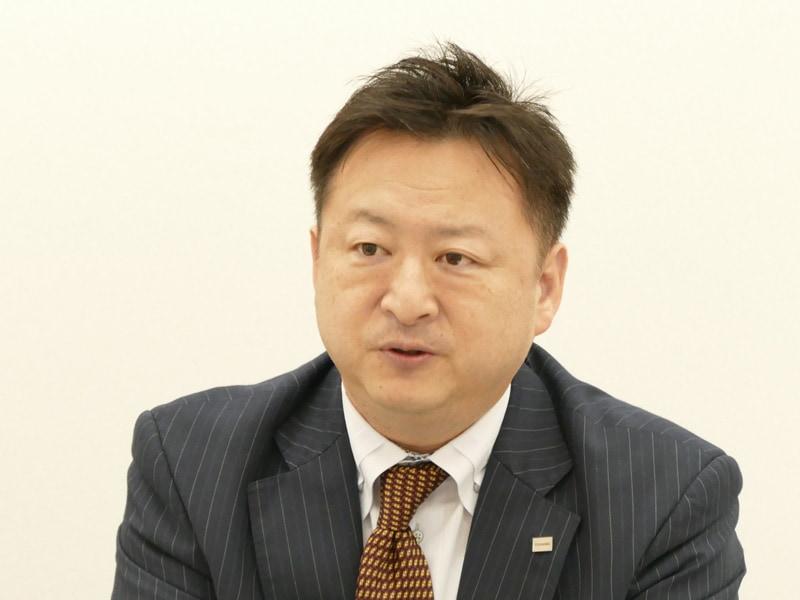家電事業統括部・家電商品企画部部長 奥野勉氏