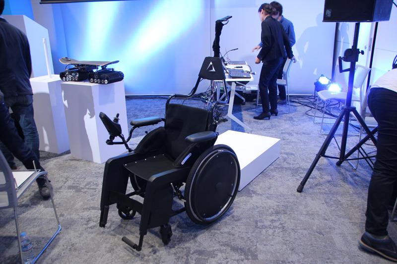 電動車椅子「Telewheelchair」