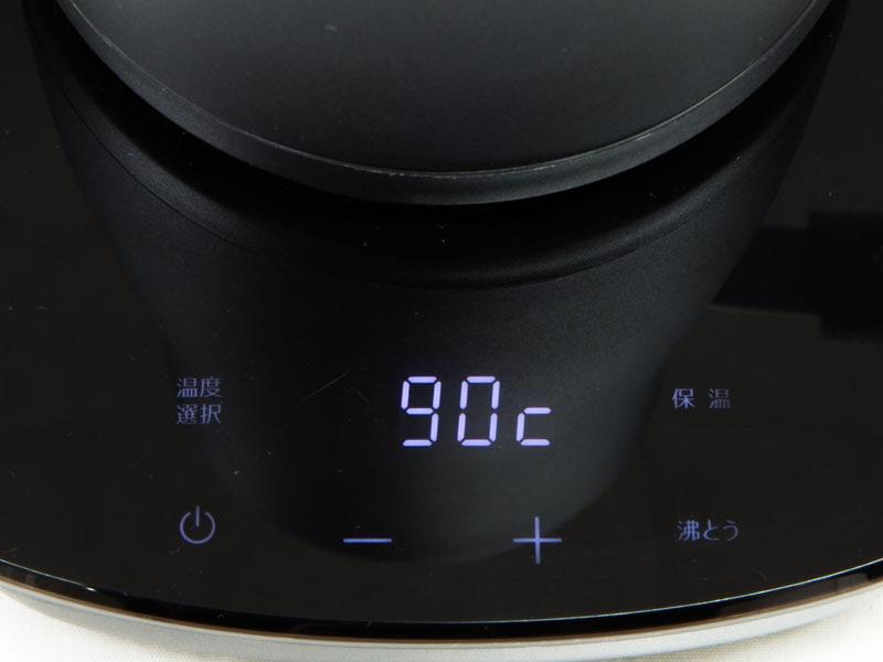 60~100℃まで1℃単位で温度調節が可能