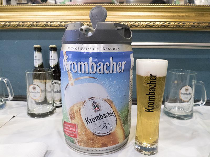 クロンバッハー樽生ビール