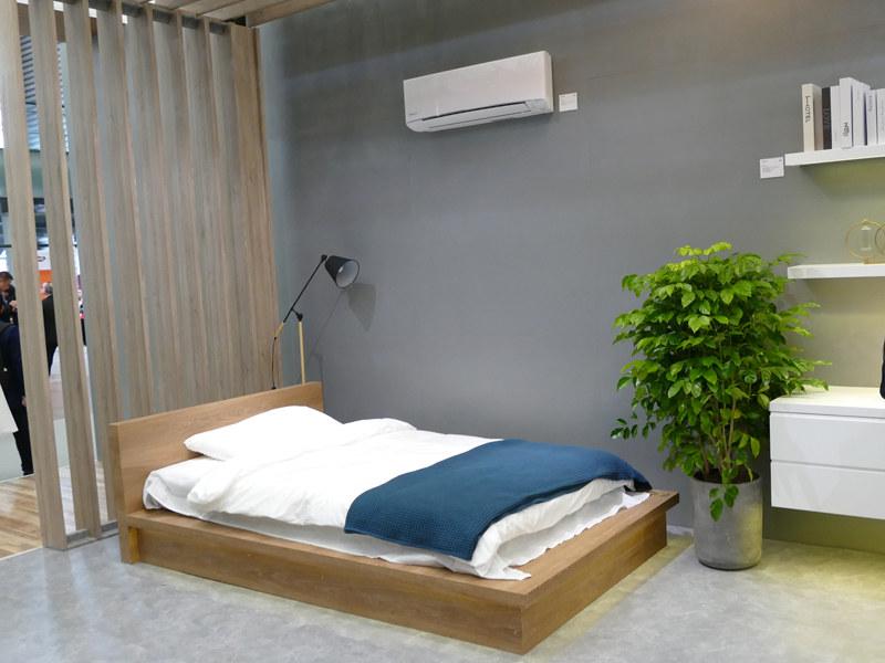 空調や照明を調整することで、睡眠の質をあげるベッドルームの提案