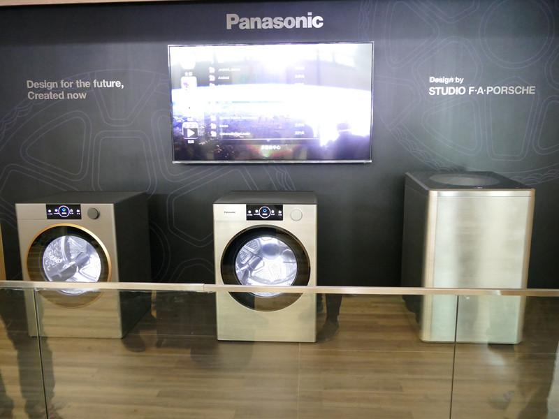 ポルシェのデザイン事務所「STUDIO F・A・PORSCHE」にデザインを依頼した洗濯機