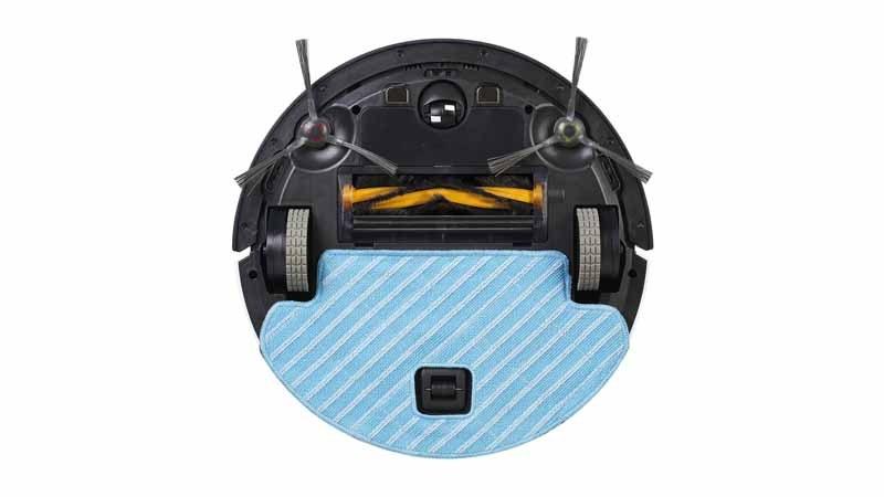 床の材質や汚れに合わせて、メインブラシ使用の有無を切り替えられる