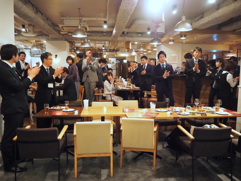 会場には受賞製品の各担当者が集まった