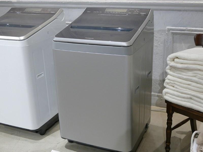 縦型洗濯乾燥機「NA-FW120V1」シルバー
