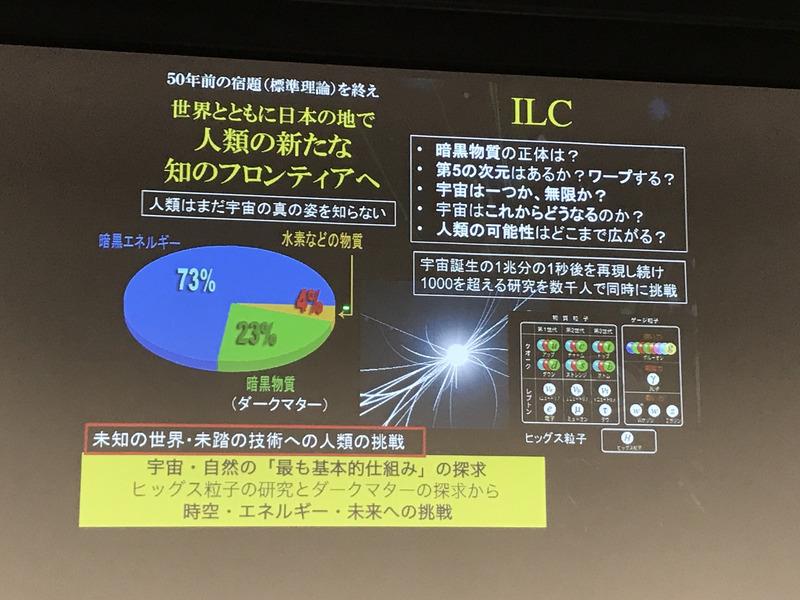 ILCは人類が宇宙の真の姿を捉える手がかりに