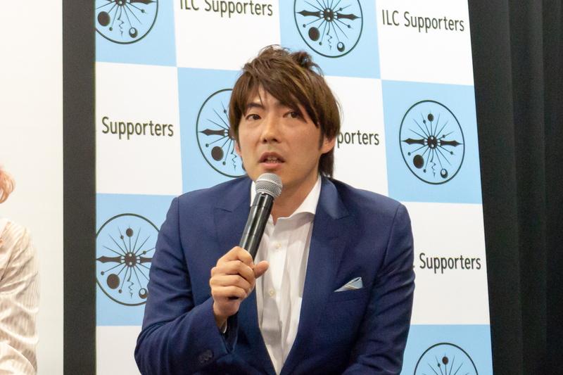 ソーシャル戦略などでサクラス株式会社の池上真之氏が協力。世界20カ国を回る中で日本の世界におけるプレゼンスが低下していると感じ、日本のためになることをやりたいと語った