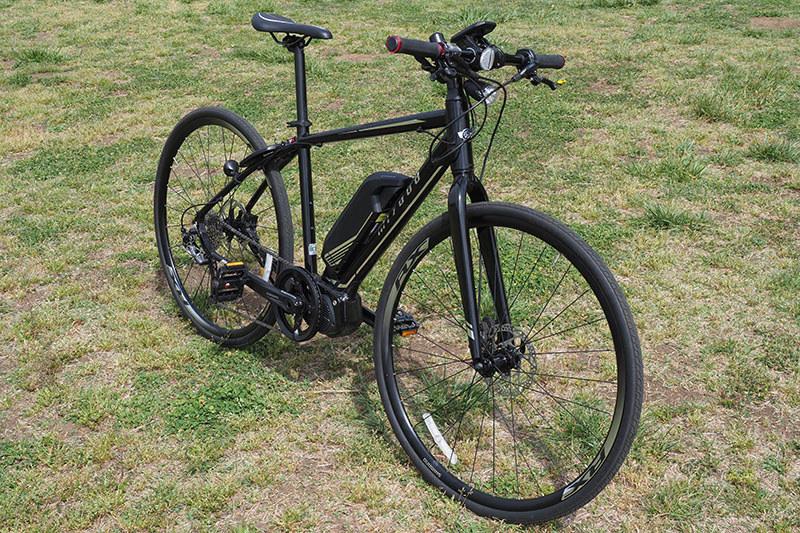 シンプルなクロスバイク・スタイル