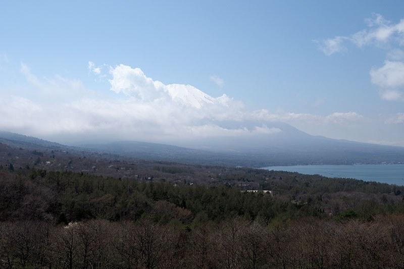 奥に富士山が見えているんですけどね~
