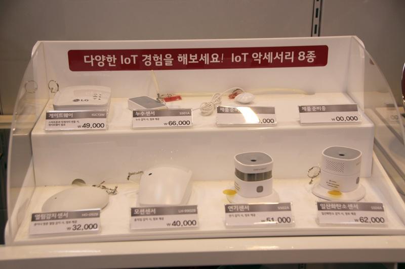 スモークセンサーや一酸化炭素センサーなど、各種IoTアクセサリーをラインナップ