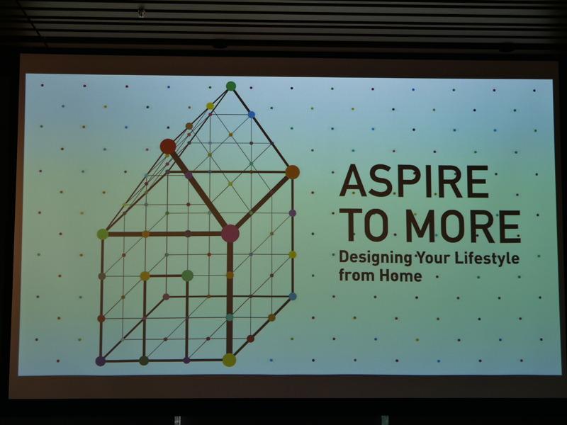 パソナニックの家電事業では「ASPIRE TO MORE」を打ち出している