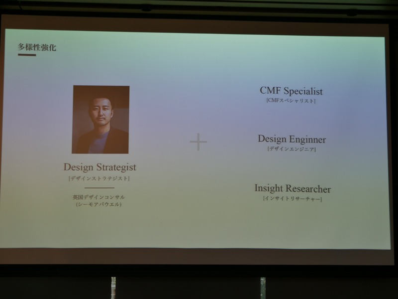 シーモアパウエルから、デザインストラジストの池田武央氏を迎えるなど人材を強化