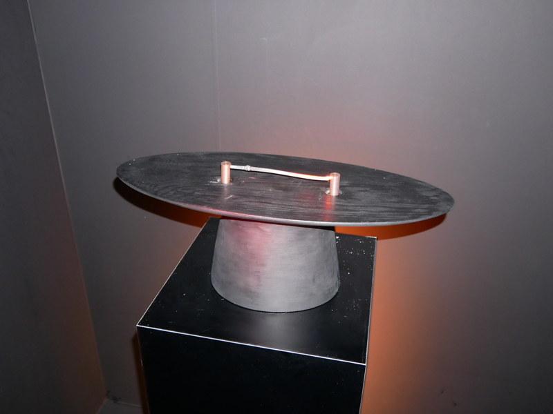 枝竹炭が持つ導電性とパナソニックの電気制御技術を組み合わせたHi to toki