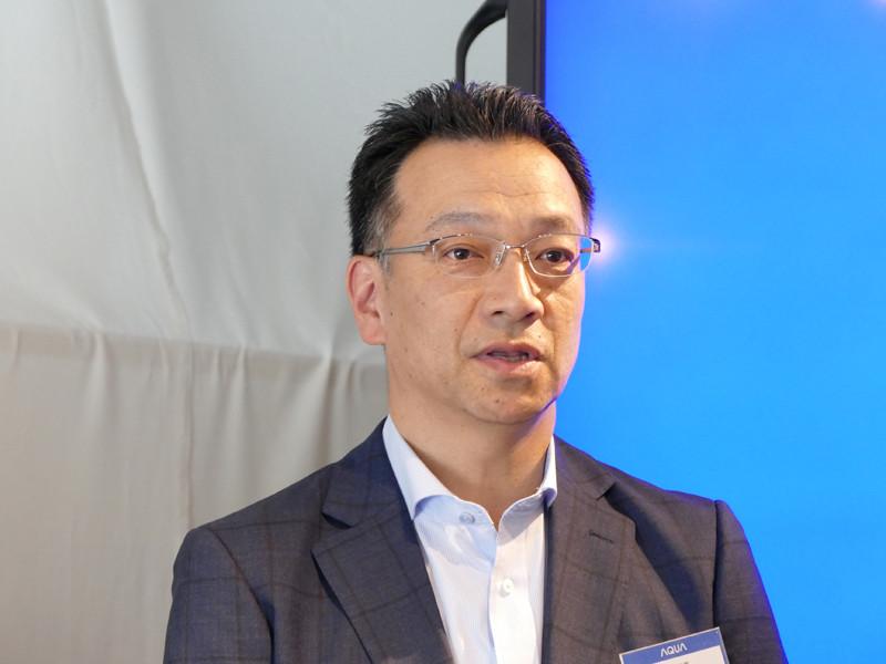 アクア 日本代表 執行役員 COO 吉田庸樹氏