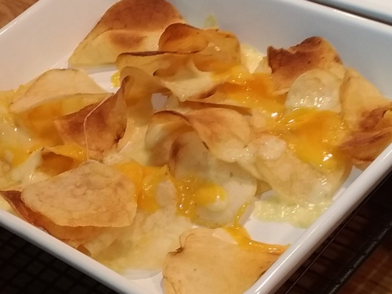 揚げたてのようなパリパリ感とチーズがよく合っている