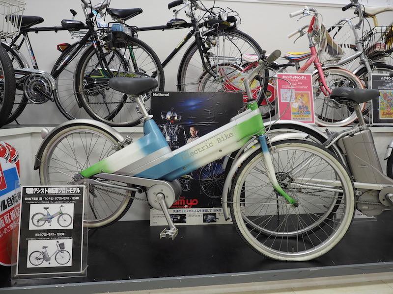1994年に武生松下電器が作った電動アシスト自転車のプロトタイプ