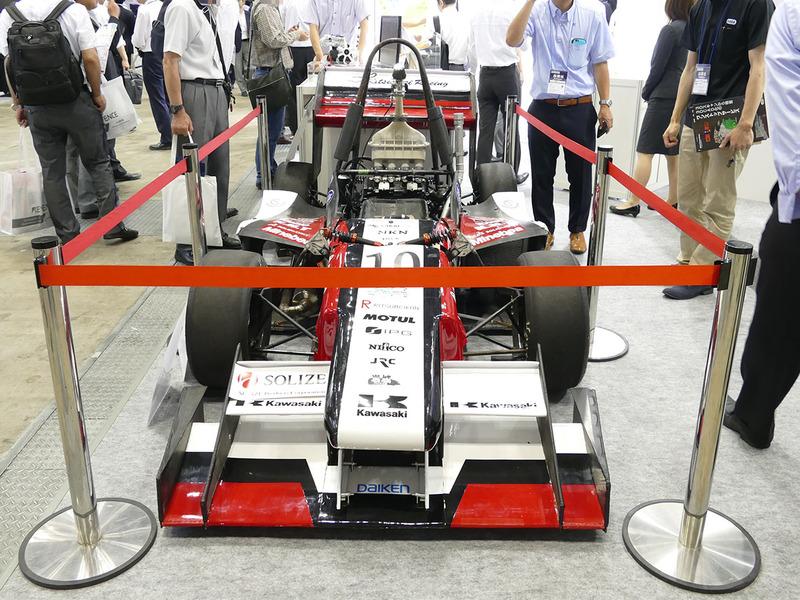 全日本学生フォーミュラ大会で使用されたレースカー