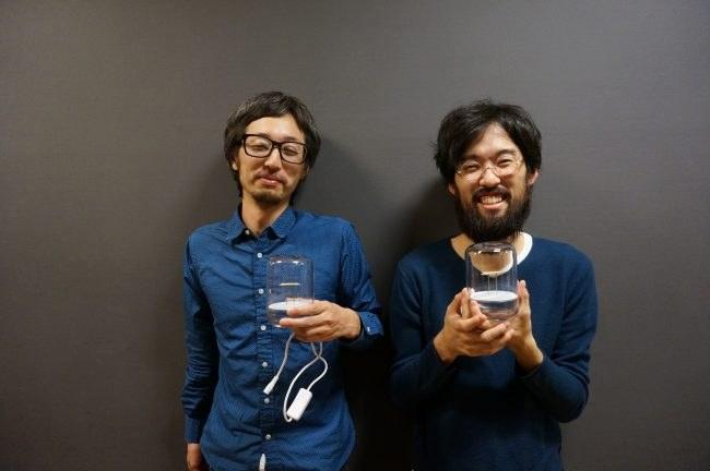 Javasparrowの稲田祐介(左)、國舛等志(右)