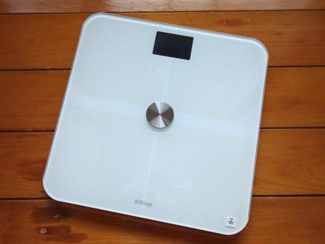 "「<a href="" https://www.softbankselection.jp/cart/ProductDetail.aspx?sku=3700546702402 "" class=""n"" target=""_blank"">Withings Smart Body Analyzer WS-50</a>」(価格:17,660円)"