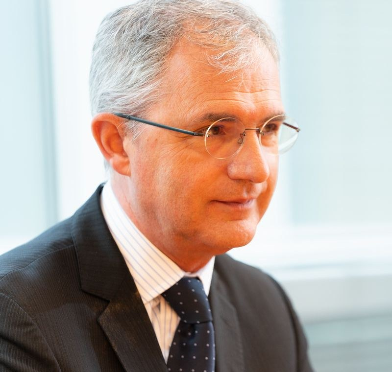 マーケティング部長のマルコ(Marco Dall'Ombra)氏