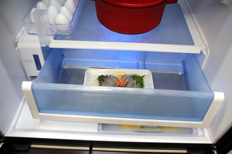 冷気の侵入を防ぐ高気密構造で乾燥を抑えるチルドルーム