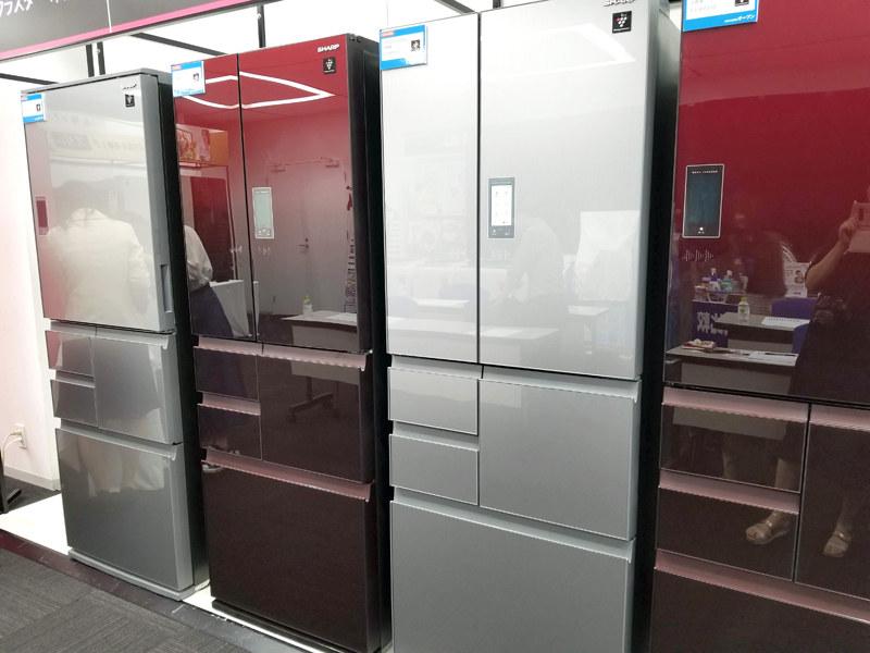 プラズマクラスター冷蔵庫 メガフリーザーシリーズ