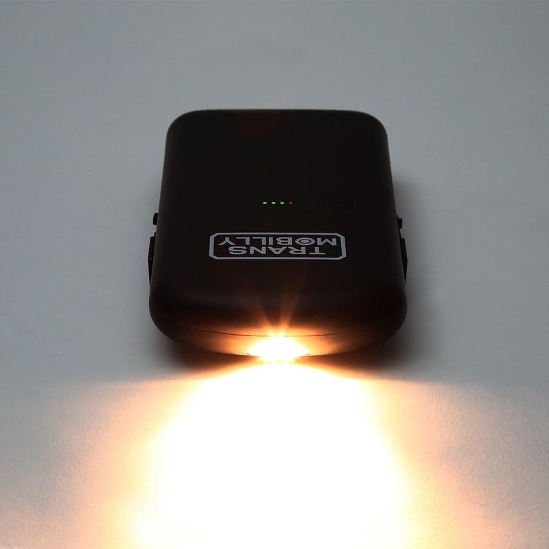 簡易ライトとしても使えます