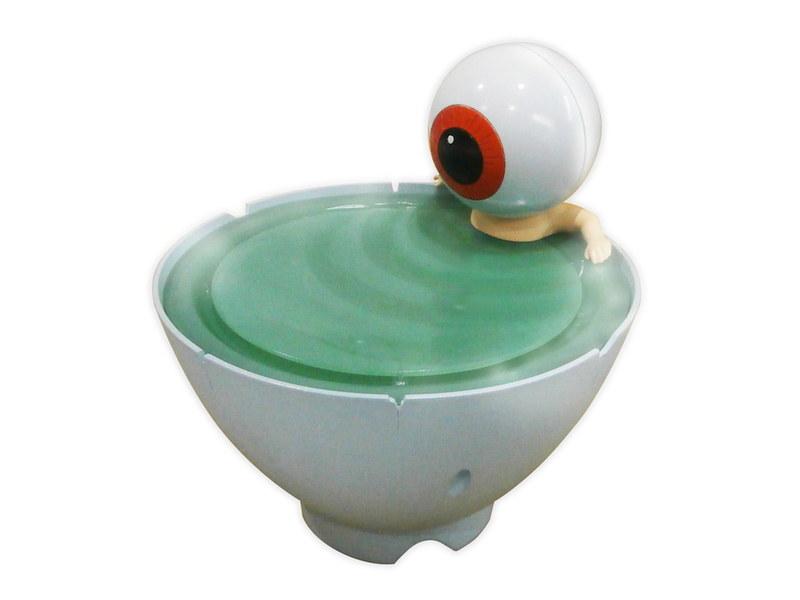 「ゲゲゲの⻤太郎 目玉おやじ 茶碗風呂加湿器」