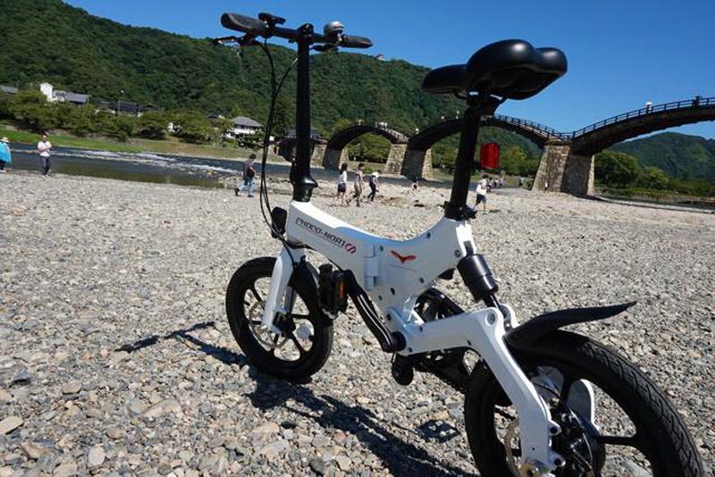 折り畳み式電動アシスト自転車「CHOCO-NORI」