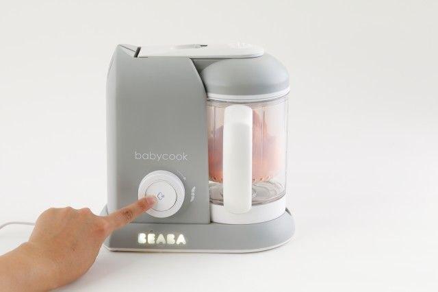 ボタン1つで「蒸す/解凍/あたため/刻む/混ぜる」の調理ができる