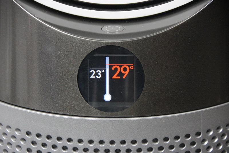 温度は9℃~29℃に1℃刻みで設定可能