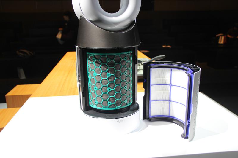 360°グラスHEPAフィルターと活性炭フィルターを搭載