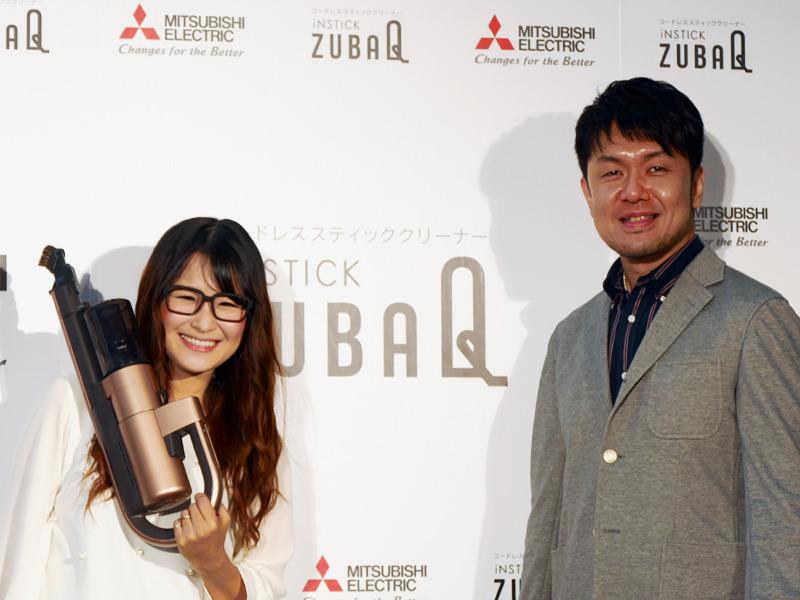 発売のPRイベントには、タレントの土田 晃之さんとギャル曽根さんが出演