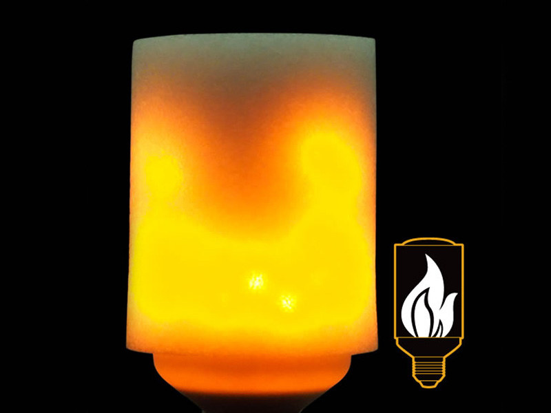 LED炎セラピー電球 直立型(LDT3)