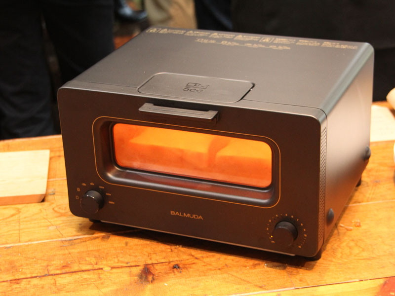 2015年に発売した「BALMUDA The Toaster(バルミューダ・ザ・トースター)」