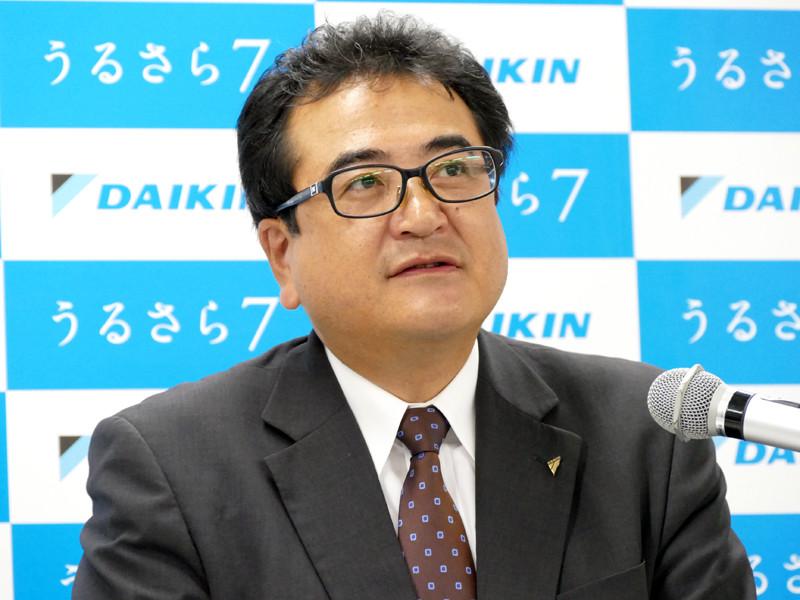 常務執行役員 空調営業本部長・船田 聡氏